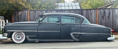 side view of low rider car